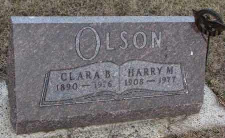 OLSON, CLARA B. - Knox County, Nebraska | CLARA B. OLSON - Nebraska Gravestone Photos