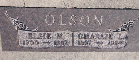 OLSON, ELSIE M. - Knox County, Nebraska | ELSIE M. OLSON - Nebraska Gravestone Photos