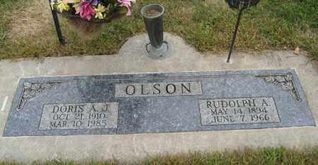 OLSON, DORIS A. J. - Knox County, Nebraska   DORIS A. J. OLSON - Nebraska Gravestone Photos