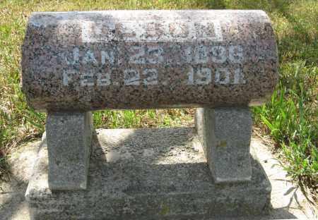 OLSON, FRANZ A. (BOTTOM) - Knox County, Nebraska | FRANZ A. (BOTTOM) OLSON - Nebraska Gravestone Photos
