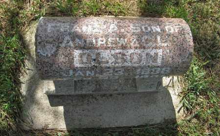 OLSON, FRANZ A. (TOP) - Knox County, Nebraska | FRANZ A. (TOP) OLSON - Nebraska Gravestone Photos