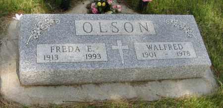 OLSON, WALFRED - Knox County, Nebraska | WALFRED OLSON - Nebraska Gravestone Photos