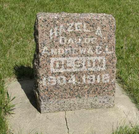OLSON, HAZEL A. - Knox County, Nebraska | HAZEL A. OLSON - Nebraska Gravestone Photos