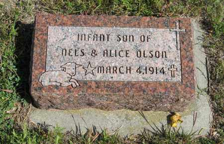 OLSON, INFANT SON - Knox County, Nebraska | INFANT SON OLSON - Nebraska Gravestone Photos