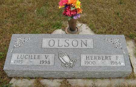 OLSON, HERBERT F. - Knox County, Nebraska   HERBERT F. OLSON - Nebraska Gravestone Photos