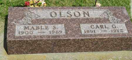 OLSON, CARL G. - Knox County, Nebraska | CARL G. OLSON - Nebraska Gravestone Photos