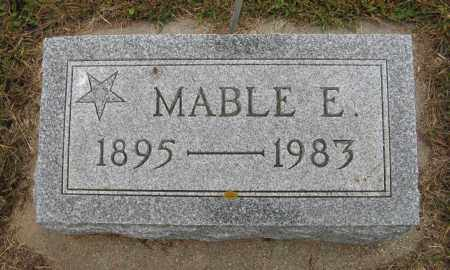OLSON, MABEL E. - Knox County, Nebraska | MABEL E. OLSON - Nebraska Gravestone Photos