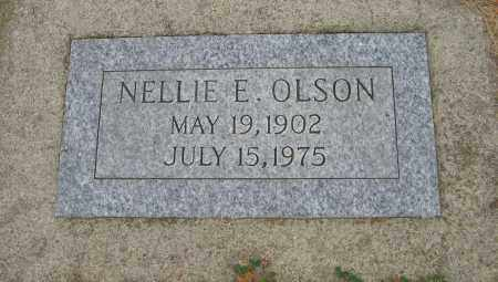 OLSON, NELLIE E. - Knox County, Nebraska | NELLIE E. OLSON - Nebraska Gravestone Photos