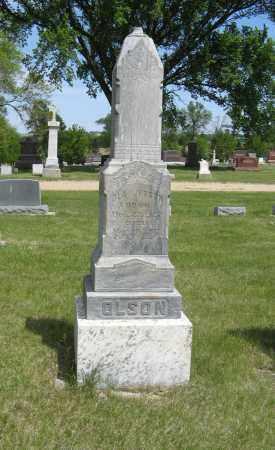 OLSON, OLA JONSON - Knox County, Nebraska | OLA JONSON OLSON - Nebraska Gravestone Photos