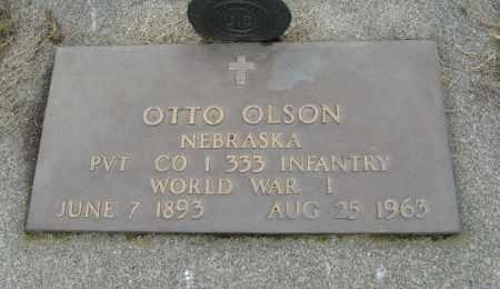 OLSON, OTTO - Knox County, Nebraska | OTTO OLSON - Nebraska Gravestone Photos