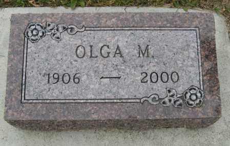 OLSON, OLGA M. - Knox County, Nebraska | OLGA M. OLSON - Nebraska Gravestone Photos