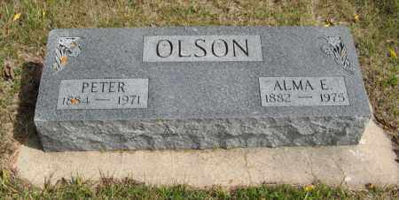 OLSON, PETER - Knox County, Nebraska | PETER OLSON - Nebraska Gravestone Photos