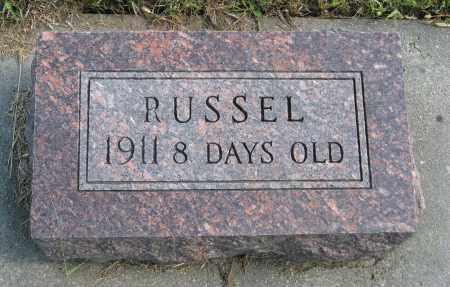OLSON, RUSSEL - Knox County, Nebraska | RUSSEL OLSON - Nebraska Gravestone Photos