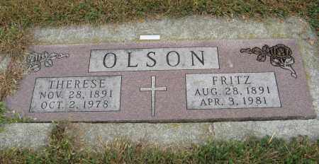 OLSON, THERESE - Knox County, Nebraska | THERESE OLSON - Nebraska Gravestone Photos