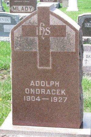ONDRACEK, ADOLPH - Knox County, Nebraska | ADOLPH ONDRACEK - Nebraska Gravestone Photos