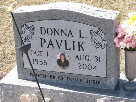PAVLIK, DONNA L. - Knox County, Nebraska   DONNA L. PAVLIK - Nebraska Gravestone Photos
