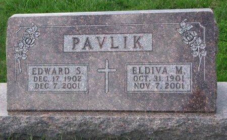 JEDLICKA PAVLIK, ELDIVA M. - Knox County, Nebraska   ELDIVA M. JEDLICKA PAVLIK - Nebraska Gravestone Photos
