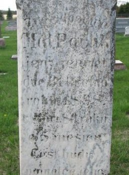 PAVLIK, MATTHEW (CLOSE UP) - Knox County, Nebraska   MATTHEW (CLOSE UP) PAVLIK - Nebraska Gravestone Photos