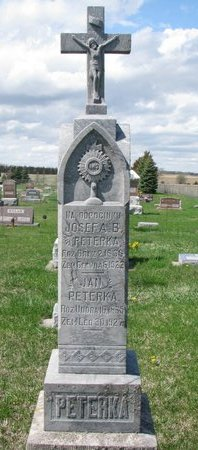 PETERKA, JOSEFA B. - Knox County, Nebraska | JOSEFA B. PETERKA - Nebraska Gravestone Photos