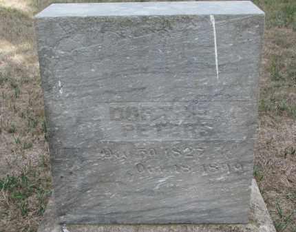PETERS, DORTHEA - Knox County, Nebraska | DORTHEA PETERS - Nebraska Gravestone Photos