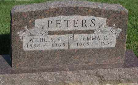 PETERS, WILHELM C. - Knox County, Nebraska | WILHELM C. PETERS - Nebraska Gravestone Photos