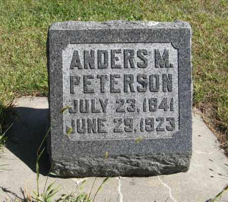 PETERSON, ANDERS M. - Knox County, Nebraska | ANDERS M. PETERSON - Nebraska Gravestone Photos