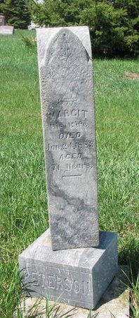 PETERSON, MARGIT - Knox County, Nebraska | MARGIT PETERSON - Nebraska Gravestone Photos