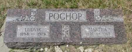 POCHOP, MARTHA - Knox County, Nebraska | MARTHA POCHOP - Nebraska Gravestone Photos