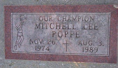 POPPE, MITCHELL LEE - Knox County, Nebraska | MITCHELL LEE POPPE - Nebraska Gravestone Photos