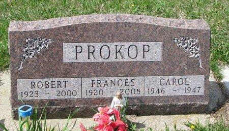 PROKOP, FRANCES - Knox County, Nebraska | FRANCES PROKOP - Nebraska Gravestone Photos
