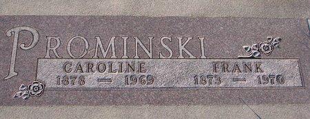 PROMINSKI, CAROLINE - Knox County, Nebraska   CAROLINE PROMINSKI - Nebraska Gravestone Photos