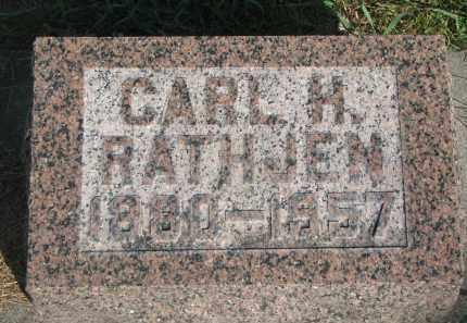 RATHJEN, CARL H. - Knox County, Nebraska   CARL H. RATHJEN - Nebraska Gravestone Photos