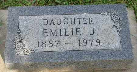 RATHJEN, EMILIE J. - Knox County, Nebraska | EMILIE J. RATHJEN - Nebraska Gravestone Photos