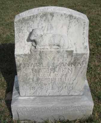RATHJEN, WILHELM J.C. - Knox County, Nebraska | WILHELM J.C. RATHJEN - Nebraska Gravestone Photos