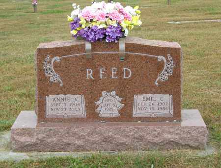 REED, EMIL C. - Knox County, Nebraska | EMIL C. REED - Nebraska Gravestone Photos