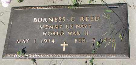 REED, BURNESS C. - Knox County, Nebraska | BURNESS C. REED - Nebraska Gravestone Photos