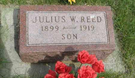 REED, JULIUS W. - Knox County, Nebraska | JULIUS W. REED - Nebraska Gravestone Photos