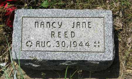 REED, NANCY JANE - Knox County, Nebraska | NANCY JANE REED - Nebraska Gravestone Photos