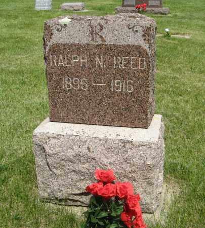 REED, RALPH N. - Knox County, Nebraska   RALPH N. REED - Nebraska Gravestone Photos