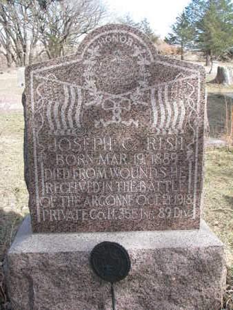 RISH, JOSEPH C. - Knox County, Nebraska | JOSEPH C. RISH - Nebraska Gravestone Photos