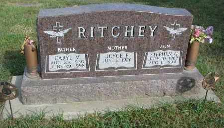 RITCHEY, JOYCE E. - Knox County, Nebraska | JOYCE E. RITCHEY - Nebraska Gravestone Photos