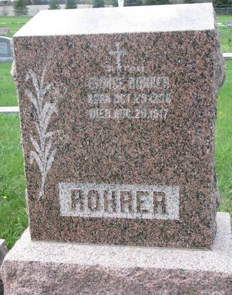 ROHRER, EUNICE - Knox County, Nebraska   EUNICE ROHRER - Nebraska Gravestone Photos