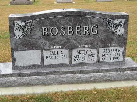 ROSBERG, REUBEN P. - Knox County, Nebraska | REUBEN P. ROSBERG - Nebraska Gravestone Photos