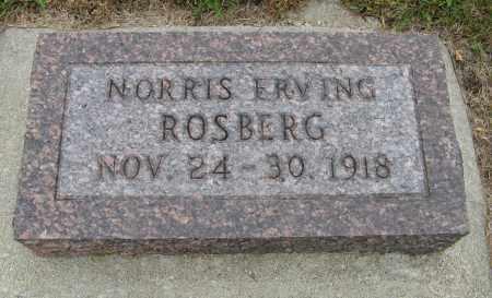 ROSBERG, NORRIS ERVING - Knox County, Nebraska | NORRIS ERVING ROSBERG - Nebraska Gravestone Photos