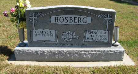 ROSBERG, SPENCER - Knox County, Nebraska | SPENCER ROSBERG - Nebraska Gravestone Photos