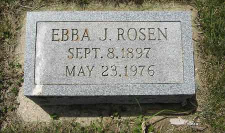 ROSEN, EBBA J. - Knox County, Nebraska | EBBA J. ROSEN - Nebraska Gravestone Photos