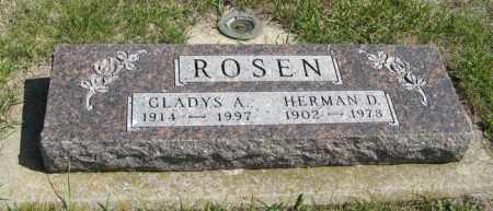 ROSEN, HERMAN D. - Knox County, Nebraska | HERMAN D. ROSEN - Nebraska Gravestone Photos
