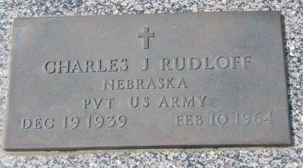 RUDLOFF, CHARLES J. - Knox County, Nebraska   CHARLES J. RUDLOFF - Nebraska Gravestone Photos
