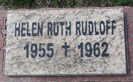 RUDLOFF, HELEN RUTH - Knox County, Nebraska | HELEN RUTH RUDLOFF - Nebraska Gravestone Photos