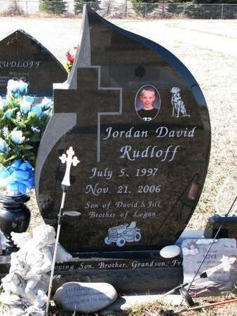 RUDLOFF, JORDAN DAVID - Knox County, Nebraska | JORDAN DAVID RUDLOFF - Nebraska Gravestone Photos